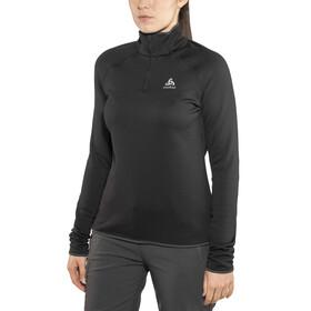 Odlo Carve Warm 1/2 Zip Midlayer Women black